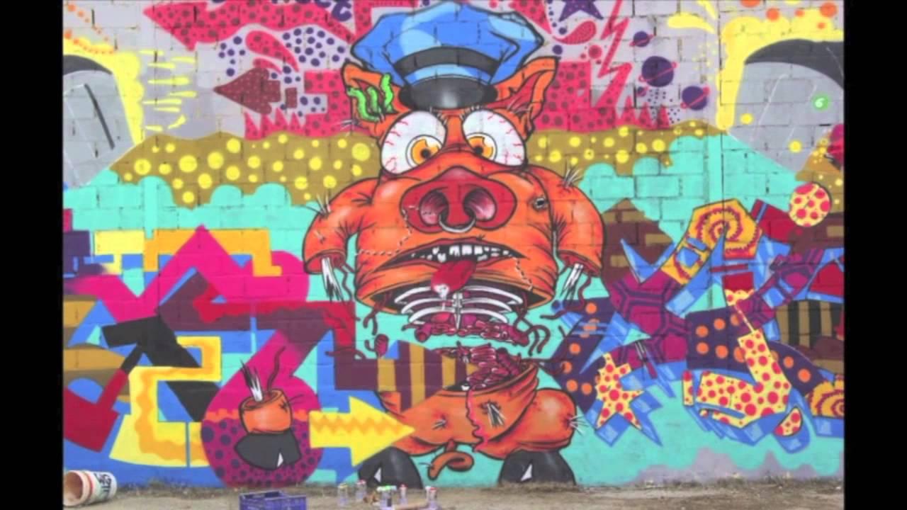 Graffiti Animation Graffiti Animation 2 By Zebra Tugs Niato And The Basta Youtube