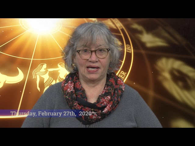 Suzanne Astro: February 24th - March 1st, 2020