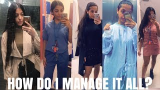 VLOG: DAY IN THE LIFE OF A MEDICAL STUDENT & YOUTUBER   persianbunny