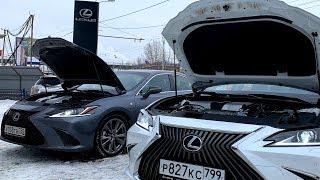 Lexus ES 350 F Sport vs. ES 200. За что +1.5 миллиона? [4K/UHD]