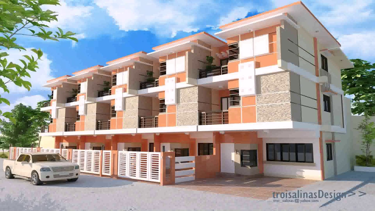 Apartment exterior design ideas philippines youtube Apartment type house plans