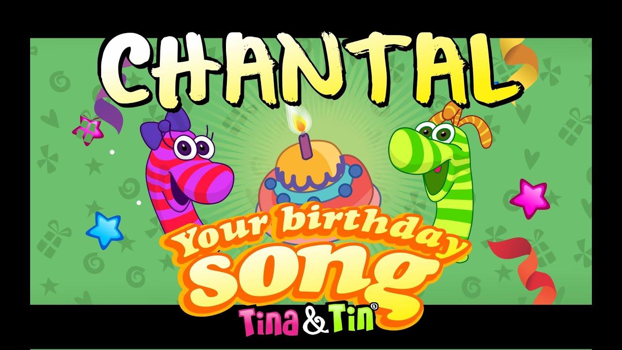 Tina Tin Happy Birthday Chantal Youtube