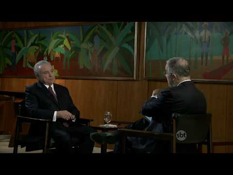 Kennedy Alencar entrevista o presidente Michel Temer | SBT Brasil (24/08/17)