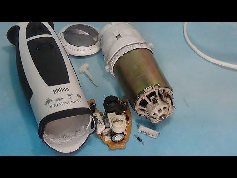 Блендер Braun разборка и ремонт