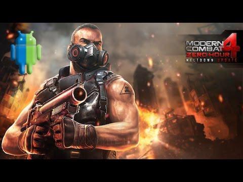 Modern Combat 4: Zero Hour на Android/iOS GamePlay