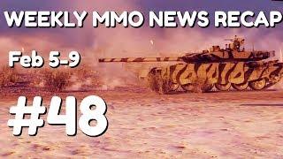 Weekly MMORPG News Recap #48   Feb 5th-9th