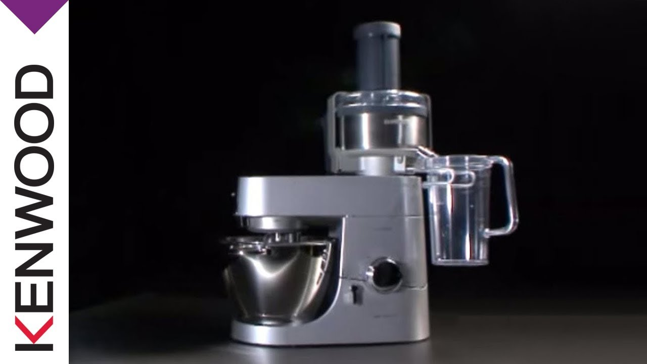 Slow Juicer Kenwood Titanium : Kenwood Continuous Juice Extractor (AT641) Kitchen Machine Attachment - YouTube