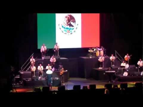 Vicente Fernandez - Mexico lindo y querido - Chile 2012