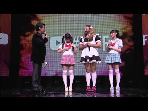 LADYBABY @ YouTube FanFest Japan 2015