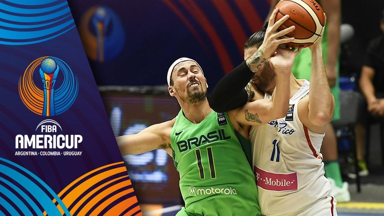 787e66931ff Brazil v Puerto Rico - Slow Motion Recap - FIBA AmeriCup 2017 - YouTube