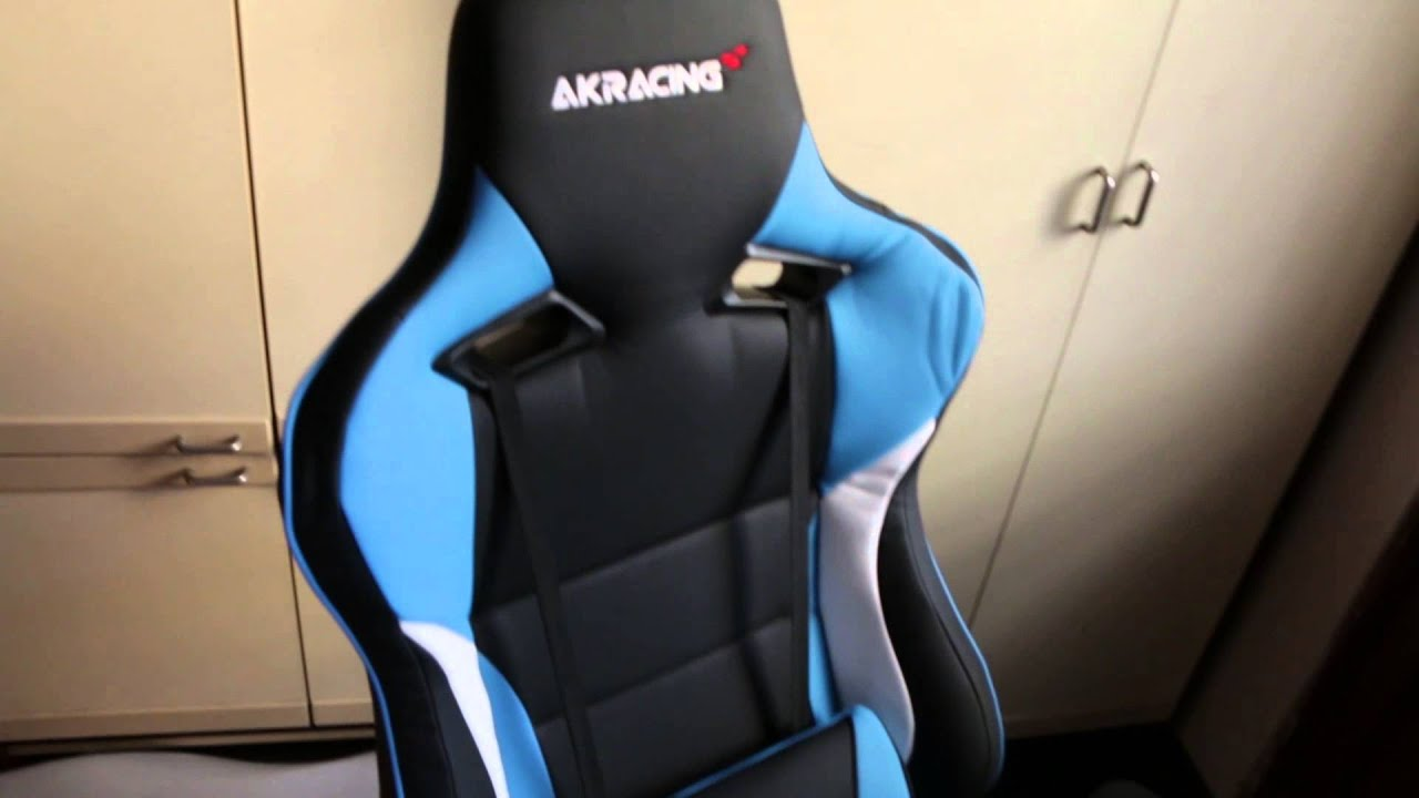 Akracing Prox Gaming Chair Ak Bl Unbox Assemble Review You