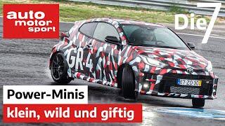 Toyota GR Yaris & Co.: Die 7 brachialsten Kleinwagen für City & Rennstrecke | auto motor sport