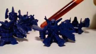 SD Gundam Gashapon toy review 2 of 3, BIND series 5, Poseidia