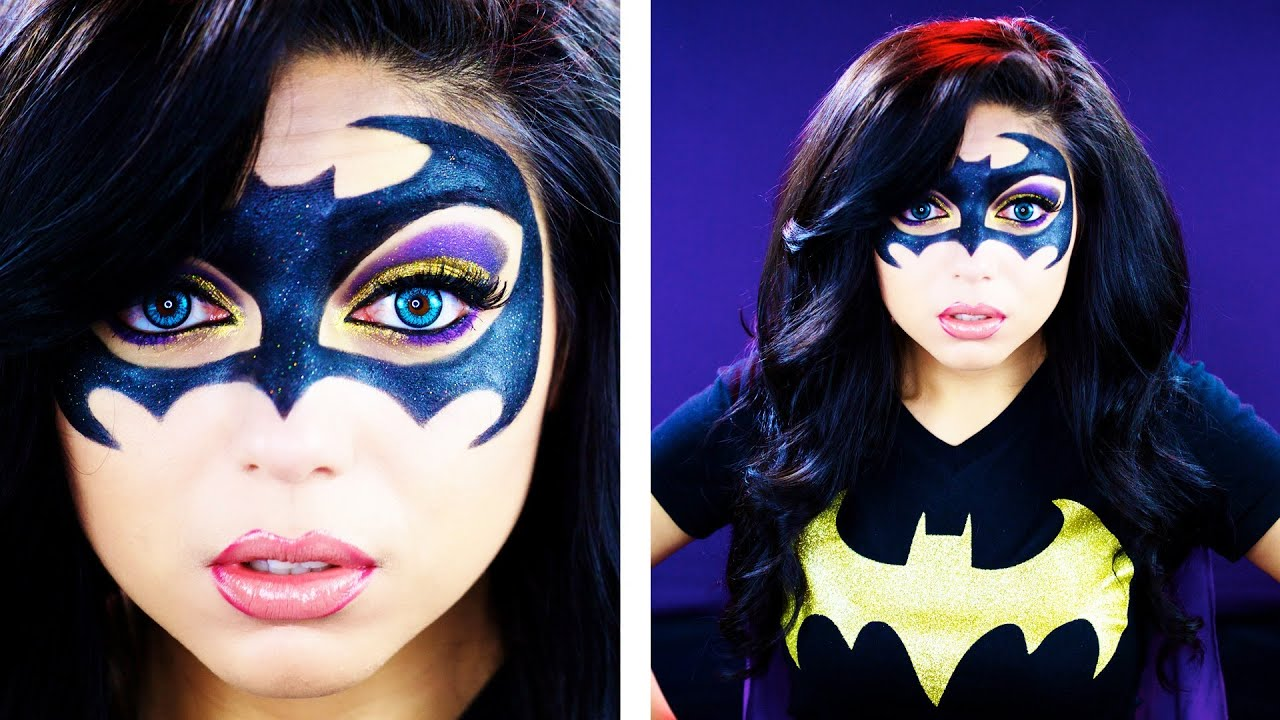batman inspired makeup tutorial charisma star youtube. Black Bedroom Furniture Sets. Home Design Ideas