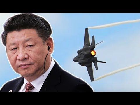 Китай может ОБНУЛИТЬ американские F-35