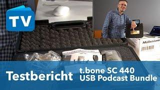 Test - t.bone SC 440 USB Podcast Bundle 2 - deutsch