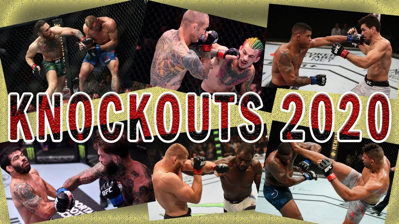 Top MMA knockouts 2020/1
