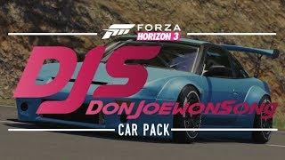 Don Joewon Song Car Pack - Forza Horizon 3