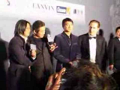 Jet Li and Andy Lau Charity Event in Shanghai
