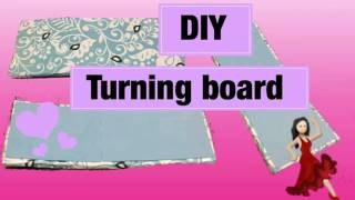 DIY turning board for dancers
