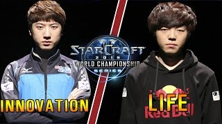 BlizzCon Grand Final 2015. Life vs Innovation 1 4 Pomi