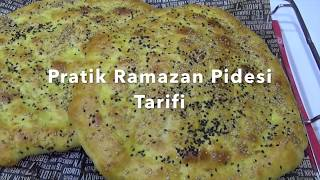 Pratik Kolay Ramazan Pidesi Tarifi