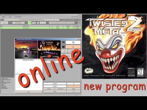 Twisted Metal 2 | NEW PROGRAM FOR ONLINE GAMES| Win7/10