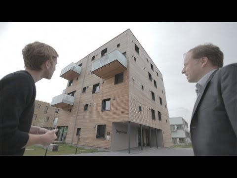 Bubbling algae to timber cubes: IBA eco buildings in Hamburg