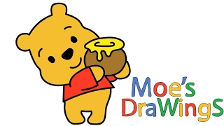 Winnie the Pooh How to draw and coloring fun new Hd video for kids