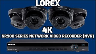 Lorex 4K 8MP Ultra HD POE NVR Security Camera System | How to setup security camera