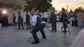 SHOCKED BRIDE Enjoys Epic GROOMSMEN Wedding Surprise Dance