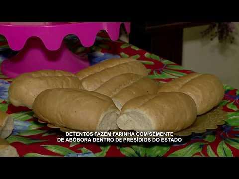 Detentos usam semente de abóbora