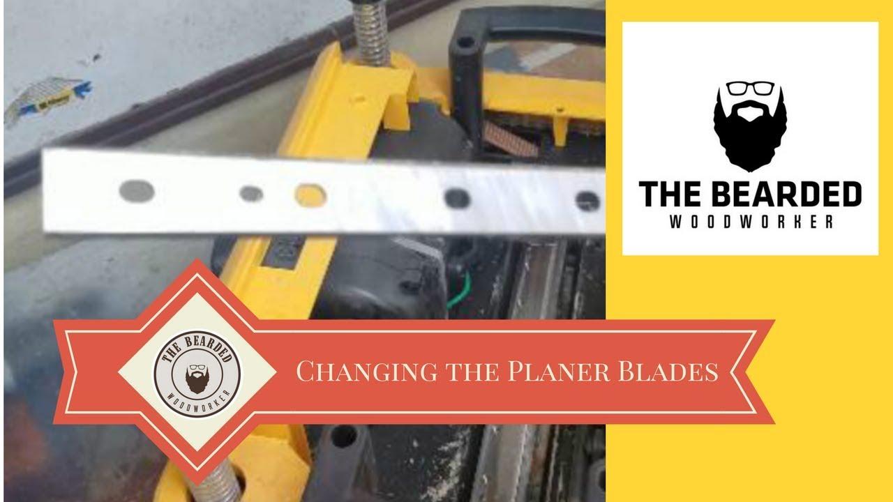 Changing the Blades in the DeWalt DW735 Planer