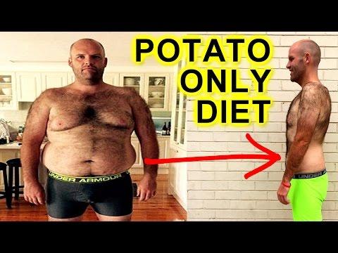 MAN BREAKS POTATO ONLY DIET ON LIVE TV & EPIC WEIGHTLOSS JOURNEY REVEALED
