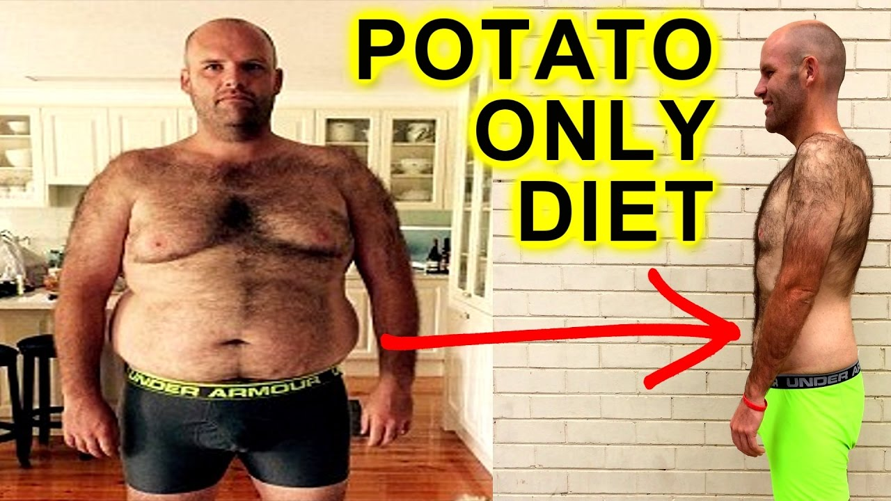MAN BREAKS POTATO ONLY DIET ON LIVE TV & EPIC WEIGHTLOSS ...