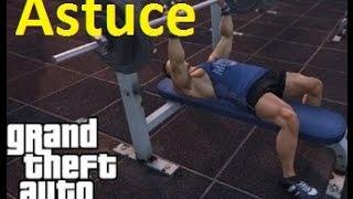 ASTUCE GTA 5 ONLINE  /  AUGMENTER SA FORCE !!!