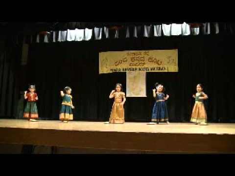 Tanvi and friends - aache mane subbamma dance