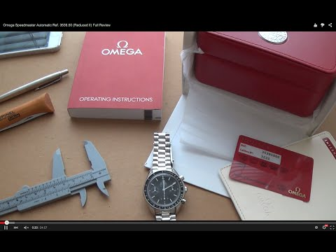 Omega Speedmaster Automatic Ref. 3539.50 (Reduced II) Full R