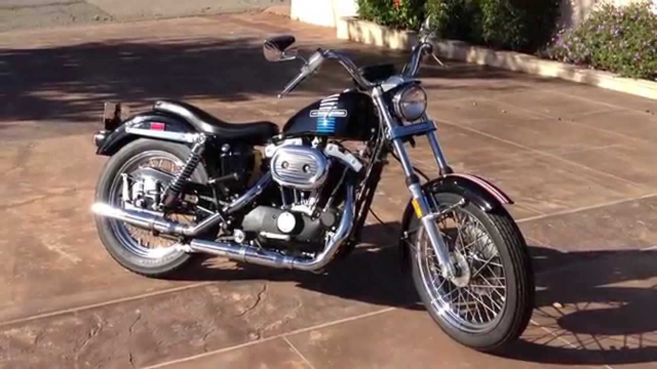 1973 Harley Davidson XLCH For Sale - YouTube
