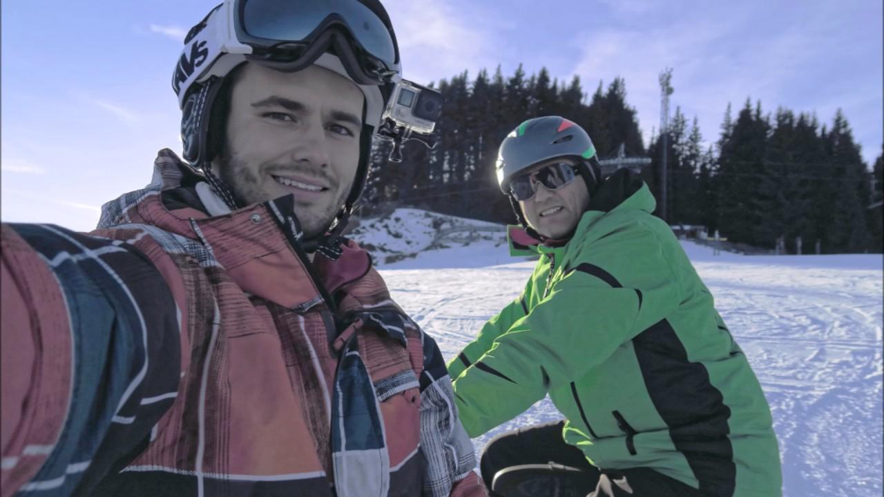 Skibike Snowbike Die Ersten Versuche Am 23 12 2016 Mit Brenter
