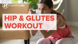 Hip and Glutes – At Home Workout  | HealthifyMe