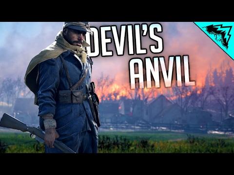 SIEGE CANNON GOD - Battlefield 1 New Operation DEVILS ANVIL Multiplayer Gameplay (Vaux & Verdun)