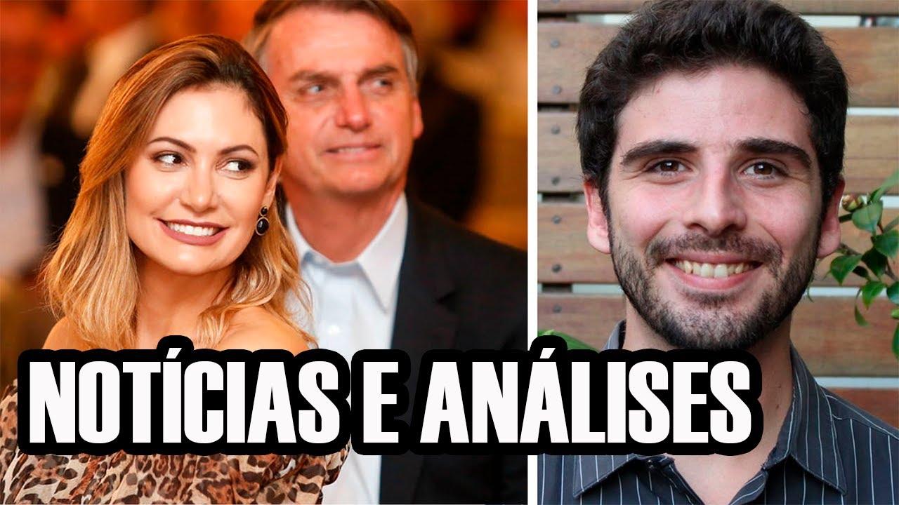 Cheques de Queiroz pagos à Michelle Bolsonaro. Entregador insultado. E  mais casos de racismo