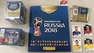 Complete 100 PANINI RUSIA 2018 World Cup sticker album, pdf alta calidad!!