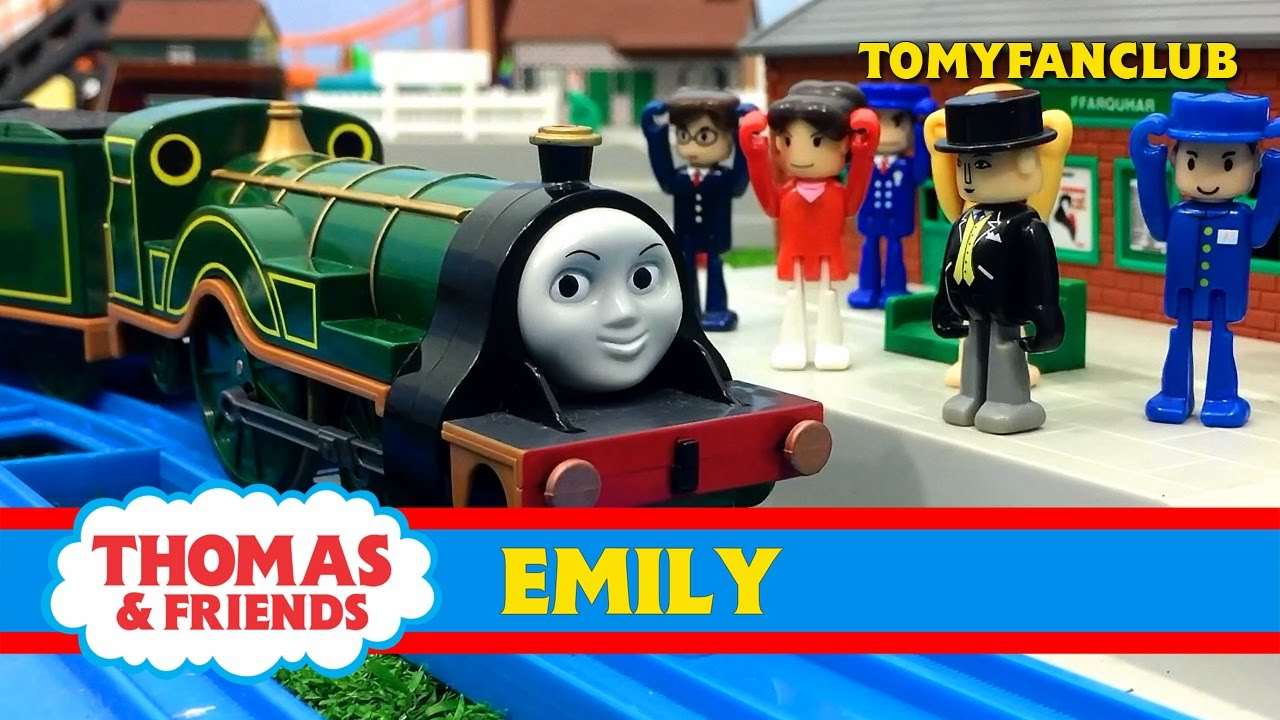 Thomas And Friends New Engine EMILY TRACKMASTER | TOMY FANCLUB