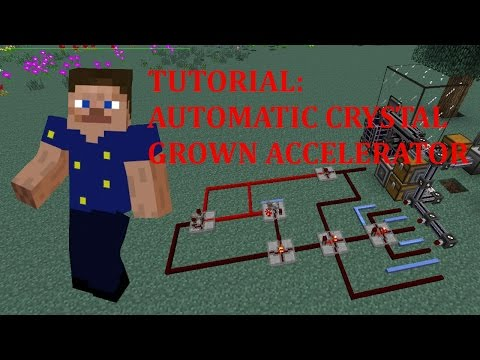 Automatic Crystal Growth Accelerator - Tutorial