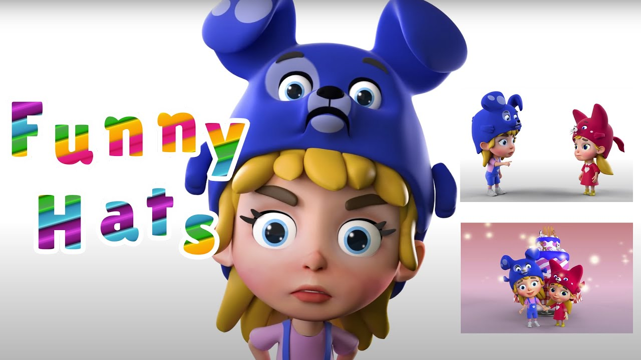 Johny Johny yes papa - Compilation of simple songs for kids by Funny Hats