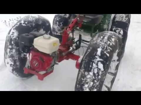 Как своими руками сделать снегоход из мотоблока 273