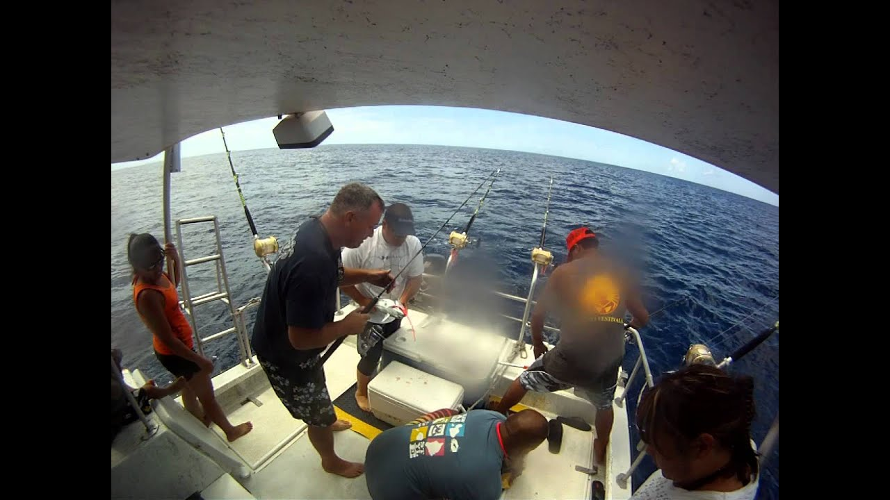 Deep Sea Fishing Maui And Lanai Gopr0369a Youtube