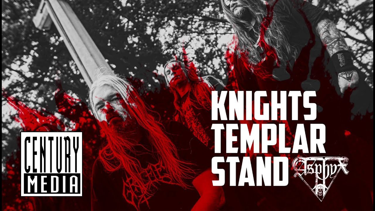 """ASPHYX – Launch new single and lyric-video for """"Knights Templar Stand"""""""